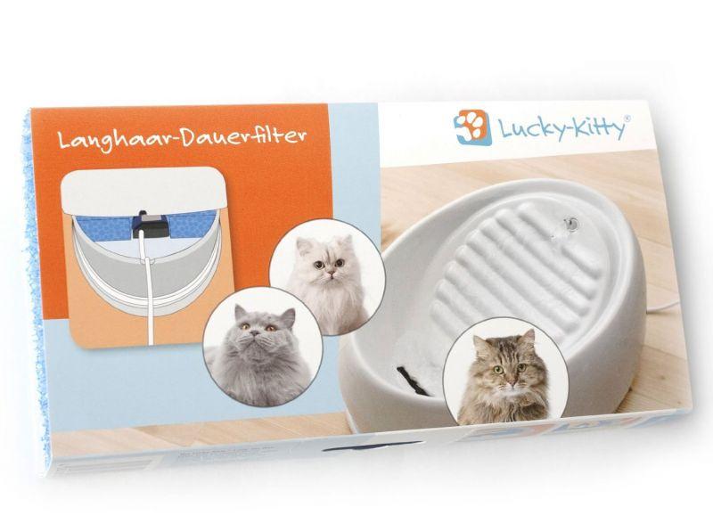 Lucky-Kitty Langhaar Dauerfilter
